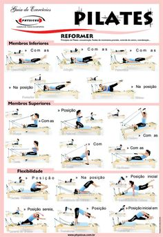 Pilates Reformer Exercises Body Video Workout