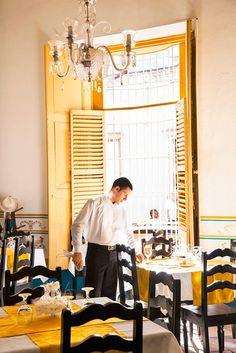 Trinidad's popular Restaurante Colonial Sr. Juan.