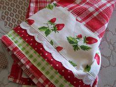 Strawberry, Strawberries towel.