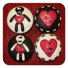 Deliciosos Bolinhos: Cupcakes ♡ Dia dos Namorados ♡
