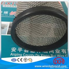 Ss304 Grade Woven Wire Mesh Filter Tube