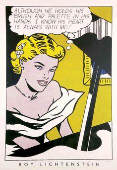 Roy Lichtenstein - Girl at Piano