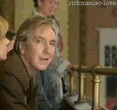 Alan Rickman checking you out. My body is ready.