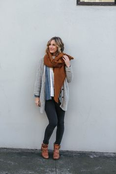 eebedd7ff26b How to Layer without Sacrificing Style Outfits With Grey Cardigan