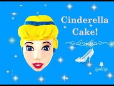 How to make a Cinderella Cake from Creative Cakes by Sharon