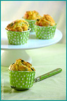 Muffin salati al gusto mediterraneo