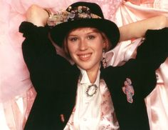 """""""Pretty In Pink"""" starring Molly Ringwald"""