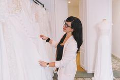 RIME ARODAKY BARCELONA SHOWROOM Rime Arodaky, Showroom, Barcelona, White Dress, Jackets, Dresses, Fashion, Bridal Collection, Weddings