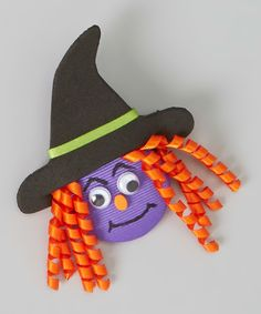 Look at this Purple Witch Clip on #zulily today!