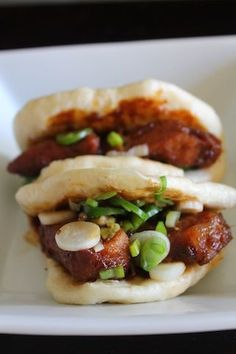 Asian-Style Roasted Pork Buns More