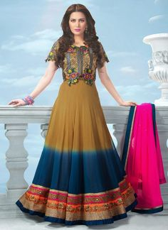 Latest Indian Embroidery Anarkali Suite Collection For Women 2015.New Indian Embroidery Anarkali Suite Collection 2015.New  embroidered  Anarkali dresses 2015.