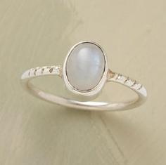 $40 Moonstone ring :D