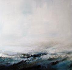 "Saatchi Online Artist: xanthippe tsalimi; Oil, Painting ""endless"""