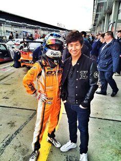 Photo of Kamui Kobayashi & his friend,