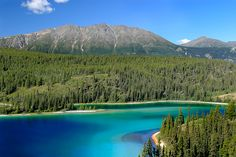 Emerald Lake, Yukon Territory - so amazingly beautiful, words cannot do it justice  Oh my, this is beautiful!