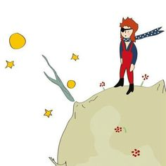 David Bowie as the Little Prince