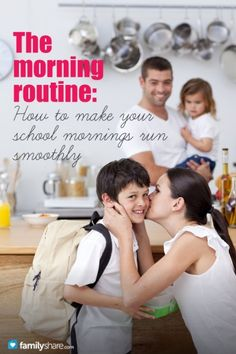 Are your mornings full of lost socks, kids late for the bus, and stress? How to make your school mornings run smoothly.