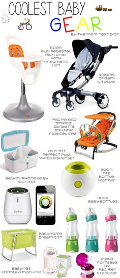 Coolest Baby Gear, Best Website For Lists, Tons of baby items/registry/strollers/reviews etc.