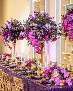While you can leave all your wedding event flower choices in the hands of a capable expert floral designer and get terrific outcomes, you might want to take a more hands on technique. Tall Wedding Centerpieces, Flower Centerpieces, Reception Decorations, Centrepieces, Centerpiece Ideas, Purple Wedding, Floral Wedding, Wedding Bouquets, Wedding Flowers