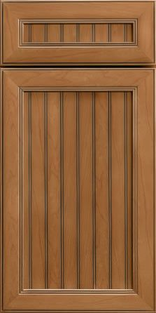 Merillat Masterpiece Cabinetry-Marsett Maple Ginger with Sable Glaze from waybuild
