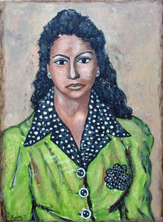 Maria Latino | 50 X 70 cm | oilpaint on canvas | for sale | more info on http://www.studio-kwint.nl
