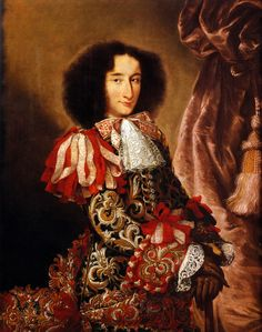 The Sebastian of the 70s... Portrait of Carlo IV Borromeo Arese by an unknown Lombard painter, c. 1675