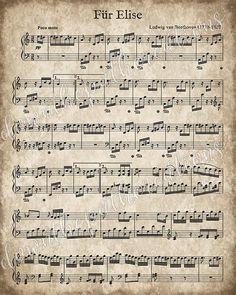 Piano Sheet Music Classical, Old Sheet Music, Sheet Music Notes, Vintage Sheet Music, Vintage Sheets, Music Sheets, Sheet Music Crafts, Music Paper, Sheet Music Decor