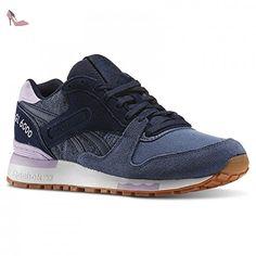 Reebok Gl 6000PP Sneakers, blau / flieder, 7.0 US - 37.5 EU - Chaussures reebok (*Partner-Link)