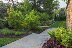 Main Line Home Garden - Jonathan Alderson Landscape Architects Colonial Garden, Maine, Sidewalk, Home And Garden, Landscape Architects, Gardens, Side Walkway, Outdoor Gardens, Walkway