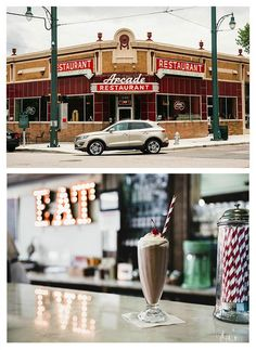 Arcade Restaurant is the oldest operating store front in Memphis, Tennessee. It's also home of the thickest, most painstakingly prepared milkshakes you'll ever see.