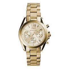 Michael Kors® Women's Goldtone Mini Bradshaw Watch