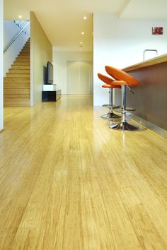 Bamboo Flooring: Green Alternatives to Timber Floors  Stonewood Natural Bamboo: Stonewood is 1850x125x14mm a Hot Press Solid board with a Drop lock system to make installation very easy. This is the most dense bamboo flooring available.