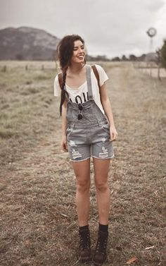 Late in the Day. #trend #denim #overalls #washedenim