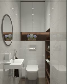 Ideas For Bathroom White Contemporary Spaces Modern Bathroom Sink, Bathroom Toilets, Bathroom Layout, Bathroom Styling, Small Toilet Design, Small Toilet Room, Bathroom Design Luxury, Bathroom Design Small, Contemporary Toilets