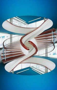 ideas spiral stairs architecture design for 2019 Stairs And Staircase, Take The Stairs, Grand Staircase, Staircase Design, Spiral Staircases, Staircase Ideas, Staircase Outdoor, Winding Staircase, Building Stairs