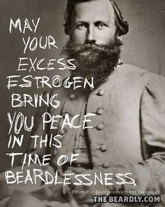 cool quote for the many bearded das to giggle at card art design for fathers day Facial hair hahahahaha