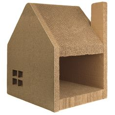 Jumbl Oversized Cathouse & Cat Scratcher Station / lounger / Post - Accommodates Cats of Every Size