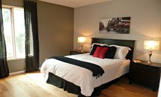 A beautiful staged bedroom by Maximum Impact Plus