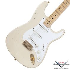 1996 Fender Custom Shop Stratocaster Relic, Mary Kaye, Blonde with Gold | Available at Garrett Park Guitars | www.gpguitars.com