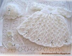 Open Crescent Set free crochet pattern