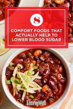 Here are eight of the best healthy comfort foods to eat, according to this dietitian. #comfortfood #healthyrecipes #healthycomfortfood #healthyrecipes Healthy Pastas, Healthy Dinners, Healthy Recipes, Traditional Lasagna, Regular Pizza, Cauliflower Mac And Cheese, Whole Wheat Pasta, No Noodle Lasagna, Lower Blood Sugar