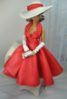 Summer Red  for Silkstone Barbie and Victoire Roux