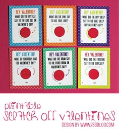 valentine card packs