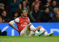 Fitness: Theo Walcott will not return to full training until the end of August so will be ...