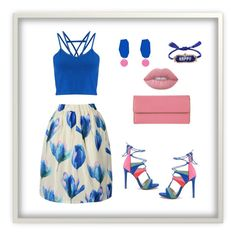 """""""Untitled #780"""" by sajairaq ❤ liked on Polyvore featuring Miss Selfridge, Lodis, Lime Crime and Shourouk"""