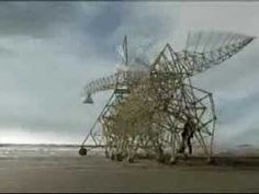 The Dutch engineer in me finds these amazing!  Theo Jansen's Kinetic Sculptures