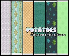 DLD POTATOES - A few walls