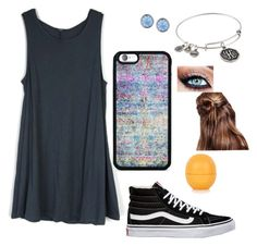 """""""Untitled Outfit #3"""" by kj-ales on Polyvore featuring BlissfulCASE, Vans, Alex and Ani, Lonna & Lilly and Topshop"""