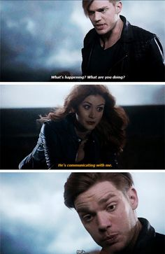 Hahahah that look of Jace xD