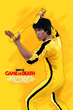 Game of Death alternative movie poster. Screenprint soon available on my website! 😀 I hope you enjoy it and do not hesitate to share! --Game of death-- Bruce Lee Poster, Bruce Lee Art, Bruce Lee Martial Arts, Eminem, Martial Arts Movies, Martial Artists, Jackie Chan, Kung Fu, Brice Lee
